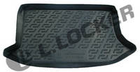 Резиновый коврик в багажник Ford Fiesta HB 02-08  Lada Locer (Локер)