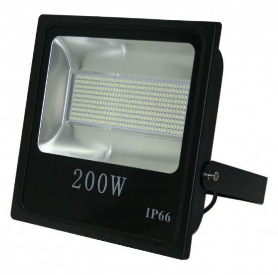 LED прожектор SMD LEDMAX 200W 6500К FLOOD200XP Slim