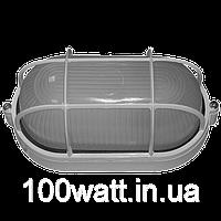 LED светильник (ЖКХ) LEDMAX 6Вт 6500K овал с решеткой