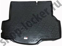 Резиновый коврик в багажник Ford Fiesta MK 6 SD 13 - Lada Locer (Локер)