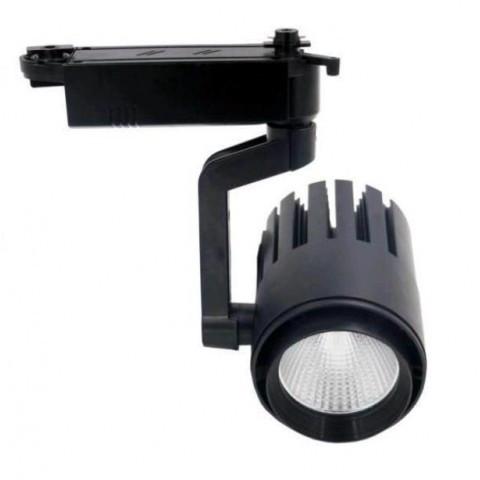 LED светильник трековый LEDMAX 30W 6500K TRL30CW2 BL (черный)