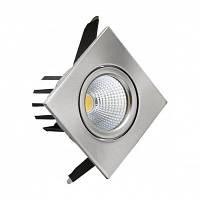 LED светильник встраиваемый LEDMAX SC18CWK BL COB 18W 6500K 1260Лм квадрат