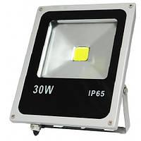 LED прожектор COB Slim LEDMAX 30W 2400Lm 6500К