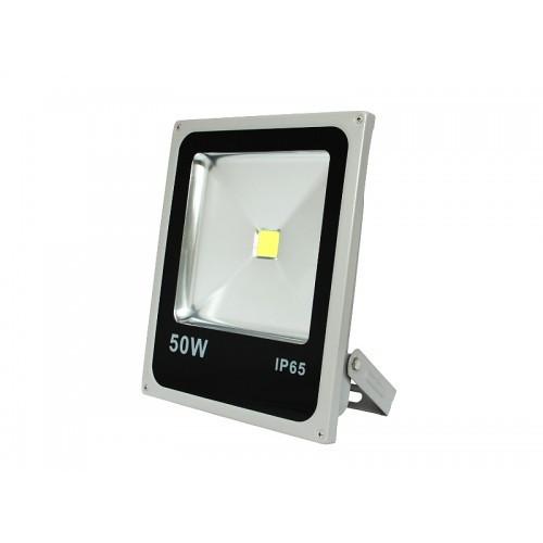 LED прожектор COB Slim LEDMAX 50W 3200Lm 6500К
