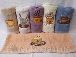 "Махровое кухонное полотенце ""Cups"""