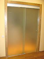 Раздвижная дверь с глухой частью