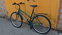 Надежный велосипед, 26 колеса,  Б/у, 18 скоростей, горный с низкой рамой