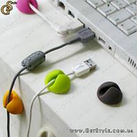 """Клипсы-держатели для проводов - """"Cable Clips"""" - 10 шт., фото 1"""