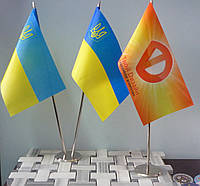 Изготовление флажков в Киеве пошив и печать