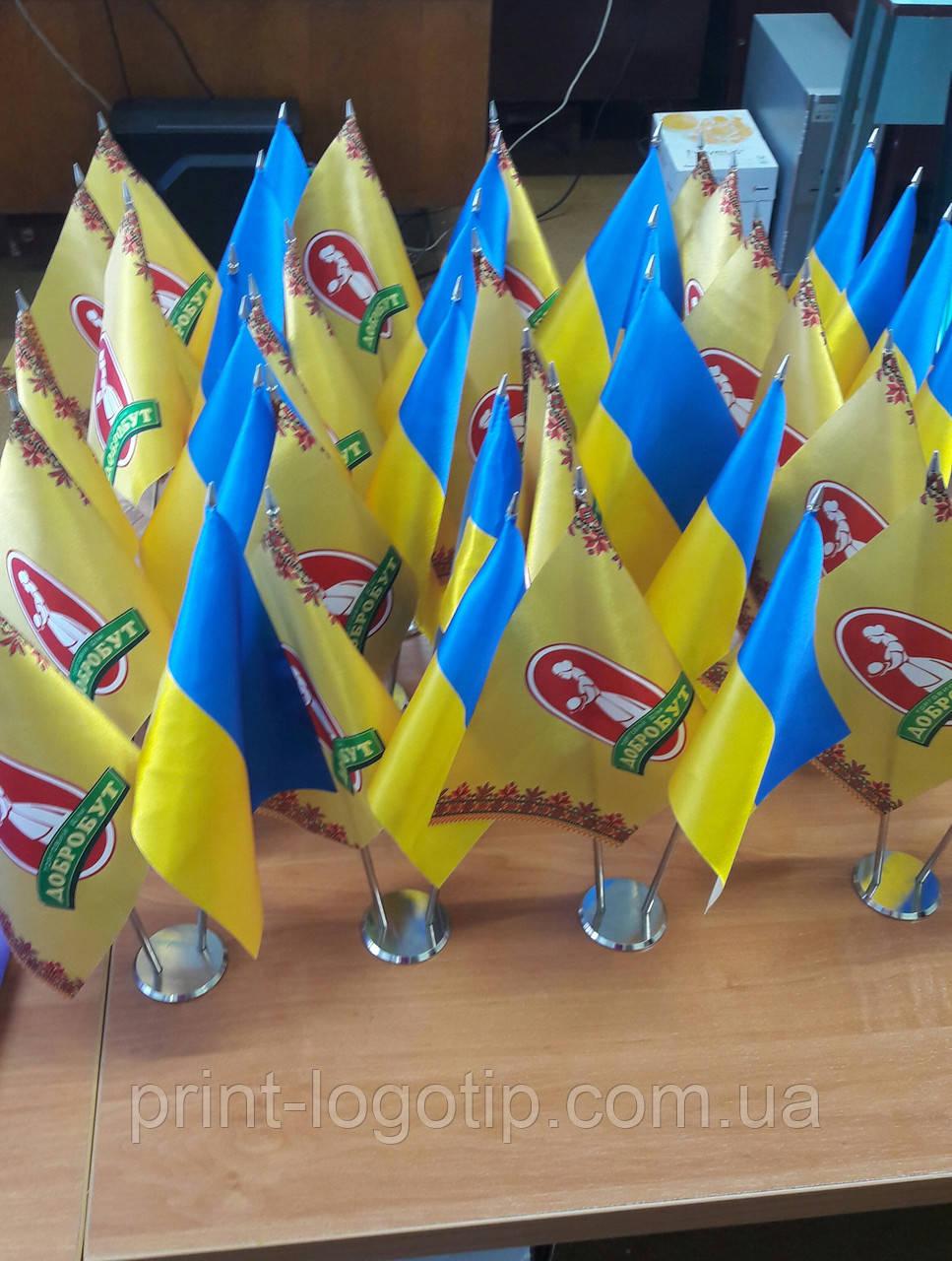 Изготовление флажков в Киеве пошив и печать - фото 2