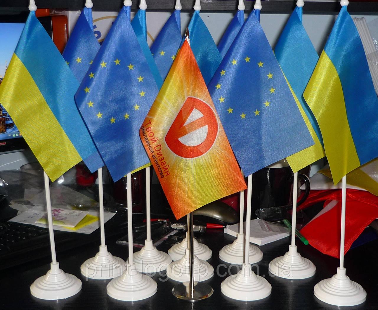 Изготовление флажков в Киеве пошив и печать - фото 5
