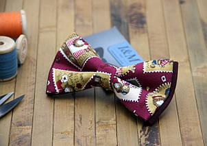Детский галстук-бабочка i&m (00018) postage stamp, фото 2