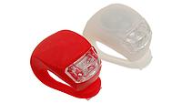 Силиконовые LED фонарики для велосипеда (2 шт в упаковке)