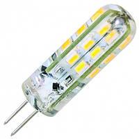LED лампа Siriusstar G4 (12V) 2W 4100K (MT-G4-SL-001A) 120Lm