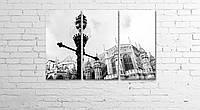 """Модульная картина на полотне """"Вестминстерский центральный холл. Лондон"""""""