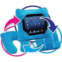 Дорожная подушка Go Go Pillow 3 в 1, подставка и чехол для планшета  , Хит продаж