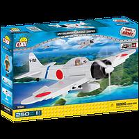 Конструктор Вторая Мировая Война Самолет Мицубиси А6М2 Зеро, COBI