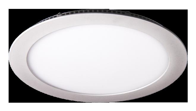 LED светильник LEDMAX встраиваемый круг 15W SMD2835 4200К пластик