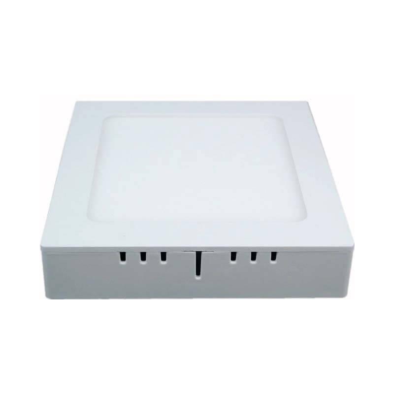 LED светильник LEDMAX квадрат накладной 12W SMD2835 3200К пластик