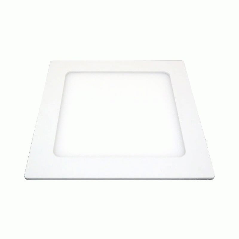 LED светильник LEDMAX встраиваемый квадрат 12W SMD2835 4200К пластик