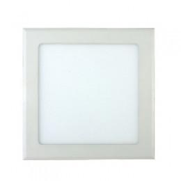 LED светильник LEDMAX встраиваемый квадрат 18W SMD2835 3200К пластик