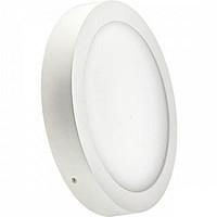 LED светильник LEDMAX круг накладной 25W SMD2835 6500К пластик