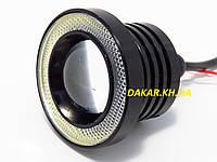 Дневные ходовые огни R 500 линзы светодиодные с габаритом 64 мм