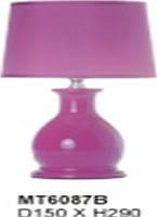Настольная лампа Sirius МТ6087 ткань+керамика