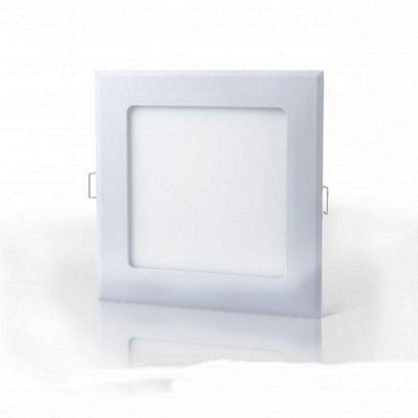 LED светильник LEDMAX встраиваемый квадрат 9W SMD2835 6500К пластик
