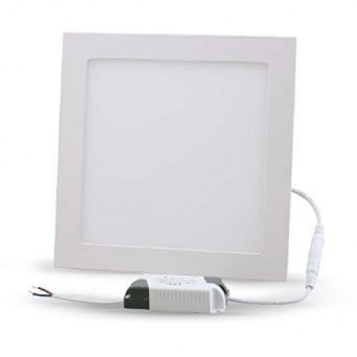 LED светильник LEDMAX встраиваемый квадрат 25W SMD2835 6500К пластик