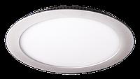 LED светильник LEDMAX встраиваемый круг 15W SMD2835 6500К пластик