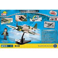 Конструктор Вторая Мировая Война Самолет Фокке-Вульф, COBI, фото 1