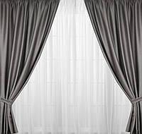 Готовые шторы для зала