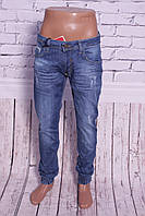 Мужские джинсы с манжетами на резинке Mario (код 0018) 29-36pp