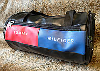 Спортивная дорожная сумка в стиле Tommy Hilfiger - кожзам