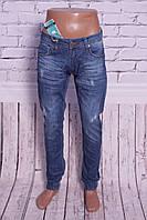 МОДНЫЕ джинсы мужские с манжетами на резинке Mario 29-36 размеры