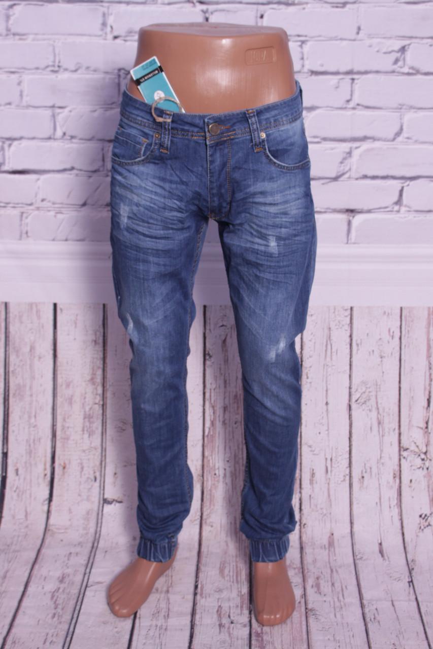 1ff1460cef3 МОДНЫЕ джинсы мужские с манжетами на резинке Mario 29-36 размеры -  Интернет-магазин