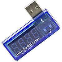 Тестер USB 3-7В 0-3А напряжения измиритель датчик точные показания вольтаж амперы амперметр зарядное сервис