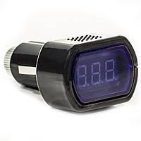 Тестер в прикуриватель 8~30В DC измерение напряжения в прикуривателе вольтаж вольты амперметр тестер