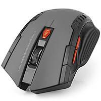 Игровая радио мышь FANTECH W529 Серая дополнительными кнопками компьютерная оптическая лазерная USB коннектор