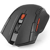 Чувствительная мышь FANTECH W529 Черная 2000 dpi беспроводная wireless игровая lol wot dota CS GO