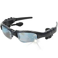 Bluetooth-гарнитура очки KBTEL черные солнцезащитные плеер наушники микрофон mp3 музыка общение блютуз 4.1