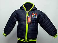 """Куртка  """"Bob"""" для мальчика от 2-до 5лет(86 -104 рост)"""