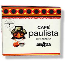 Итальянский кофе молотый Lavazza Paulista 500 г.