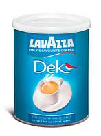 Кофе молотый без кофеина Lavazza Dek Decaffeinato ж/б 250 г., фото 1