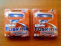 Сменные кассеты для бритья Gillette Fusion Power 8 шт.