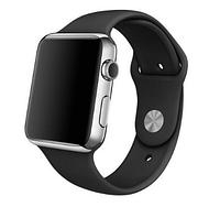 Ремешок силиконовый для Apple Watch 42mm. Black