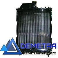Радиатор МТЗ 70У-1301010 4-х ряд алюминий. с мет. бач (TM JFD)