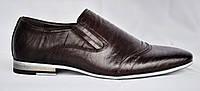 Размер 42 и 43. Туфли мужские, натуральная кожа, коричневые. Patriot 13V147.