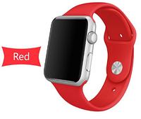Ремешок силиконовый для Apple Watch 42mm. Red